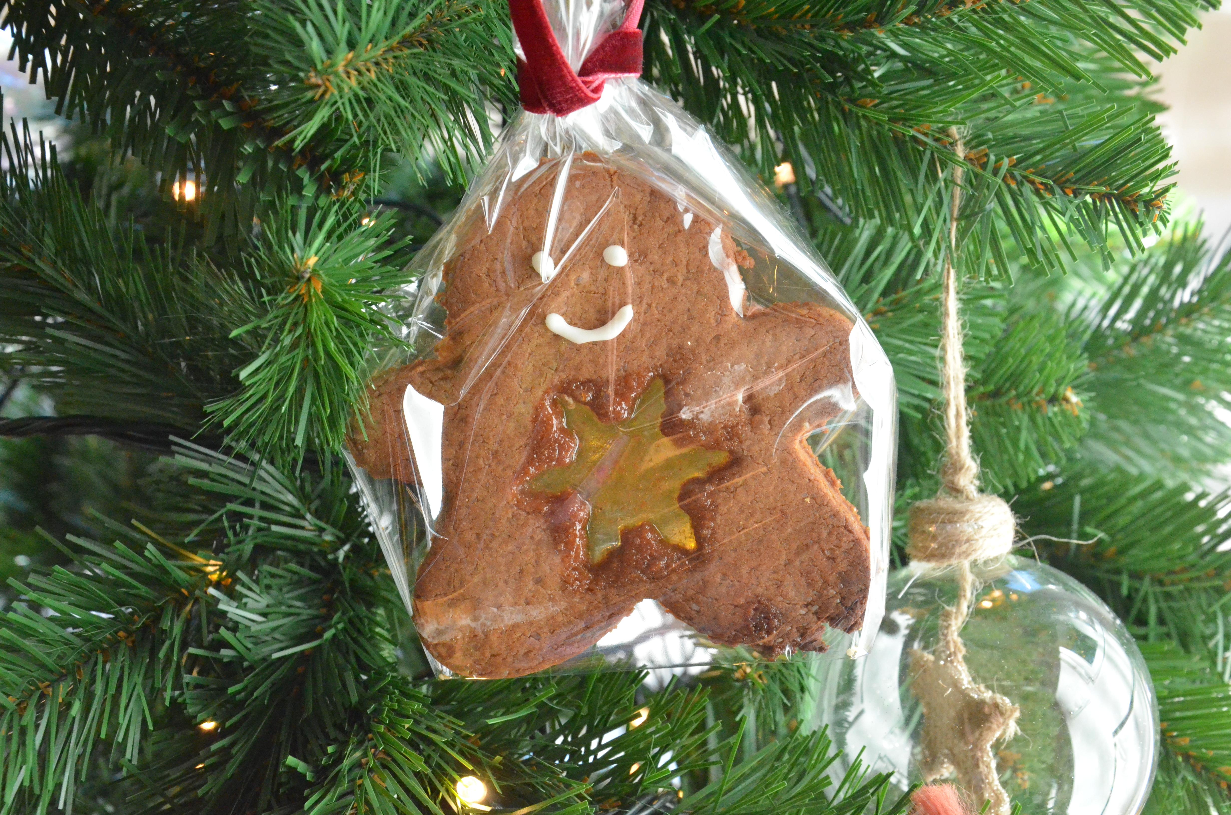 Galletas De Jengibre Y Caramelo Para Decorar El árbol De Navidad